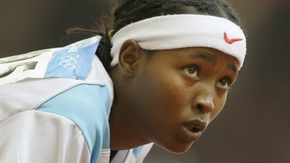 Am Start in Peking 2008: Samia Yusuf Omar