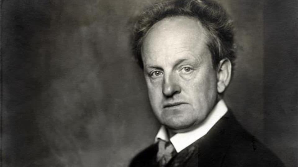 Gerhart Hauptmann, Fotografie von Nicola Perscheid (1914).