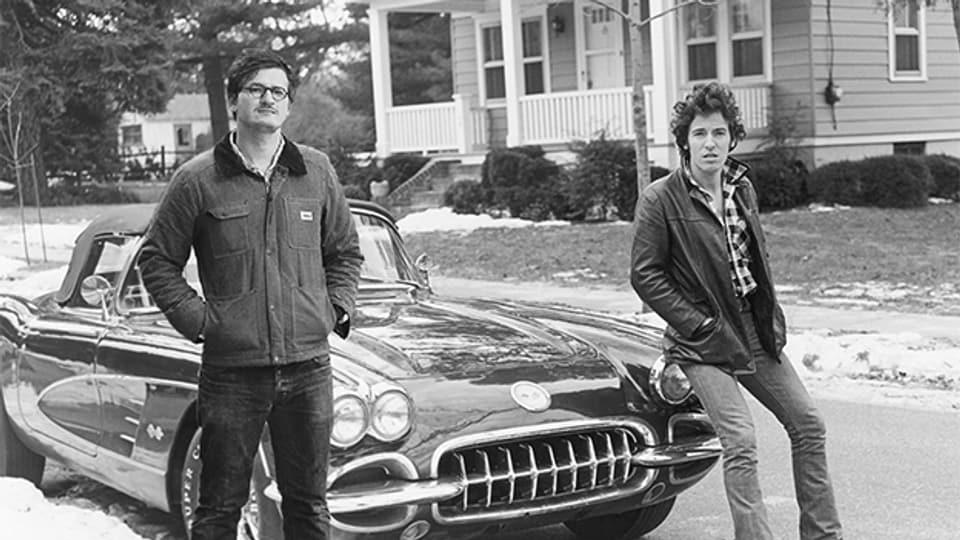 Die beiden sind «born to run»: Wolfram Höll und Bruce Springsteen
