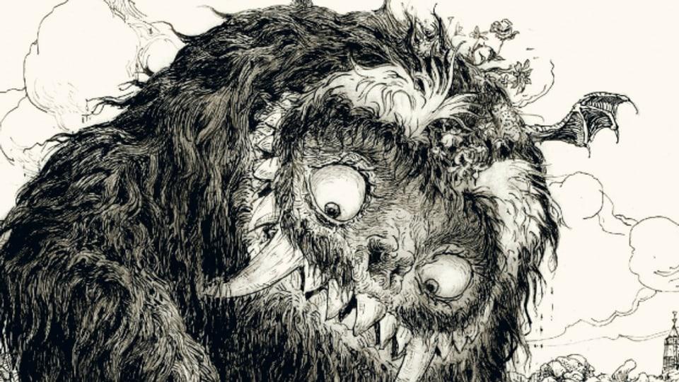 Ausschnitt aus dem Buchcover «Der Yark» von Betrand Santini