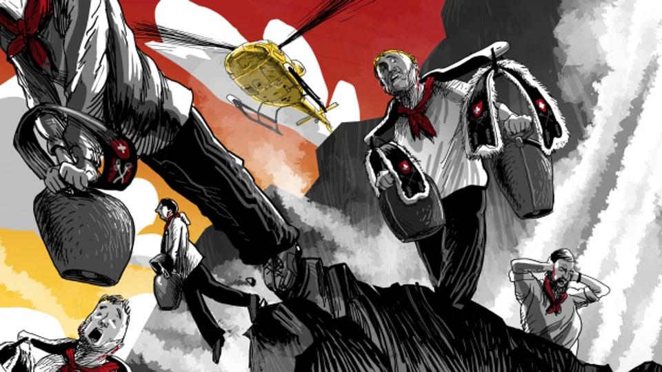 Dritter Teil der Meiringer Trilogie: «Der letzte Trychler»