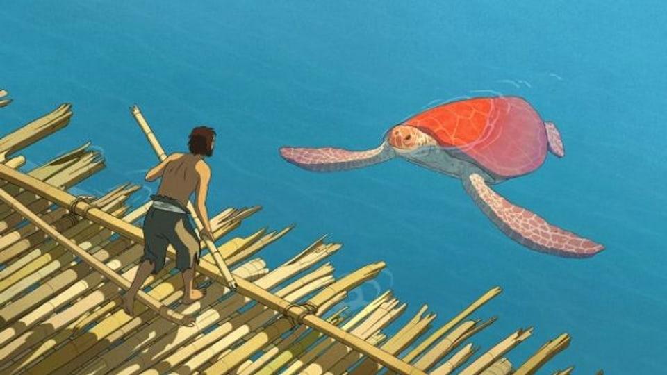 Der Mann und die Schildkröte: «La Tortue Rouge» von Michael Dudok de Wit