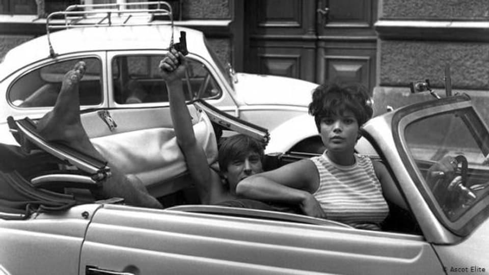 Werner Enke und Uschi Glas in «Zur Sache, Schätzchen» (1968)