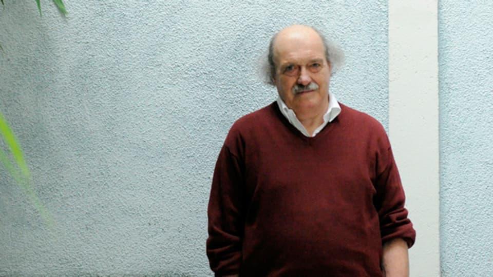 Der Autor Urs Widmer.