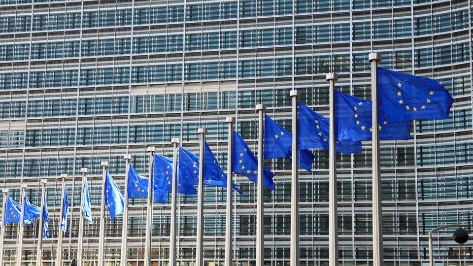 Die europäische Kommission in Brüssel.