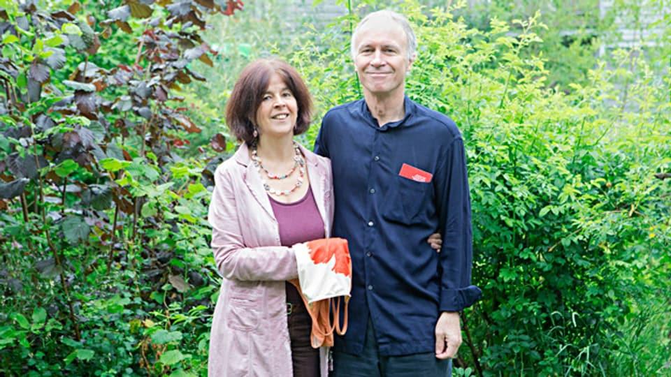 Ein Ehepaar, das zusammen arbeitet: Notburga und Robert Fischer