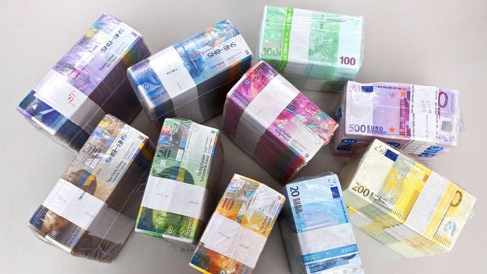 Geld gibt's en masse: Wieso?