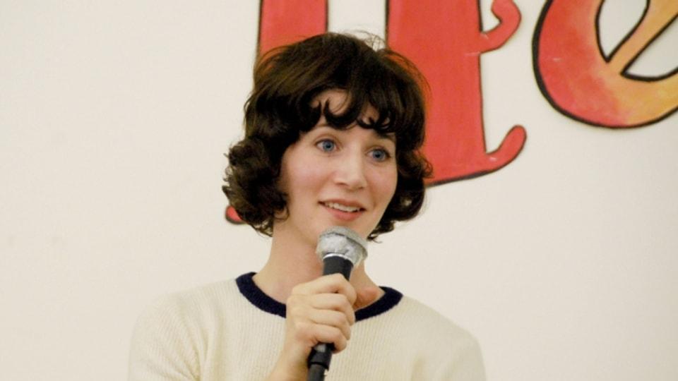 Miranda July hat zuerst Kurzgeschichten, jetzt ihren ersten Roman geschreiben.