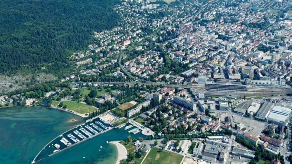 Die Stadt Biel verfolgt schon fast seit hundert Jahren eine aktive Bodenpolitik.