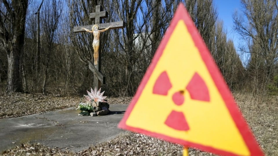 Im Jahr 1986 fast 50'000 Einwohner, heute unbewohnt: Die Stadt Prypjat neben dem havarierten Kernkraftwerk Tschernobyl