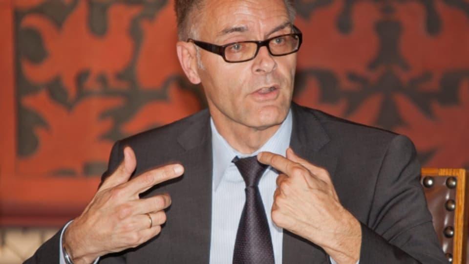 Gerhard Lips, Kommandant der Kantonspolizei Basel, fördert die Vierlfalt in seinem Korps.