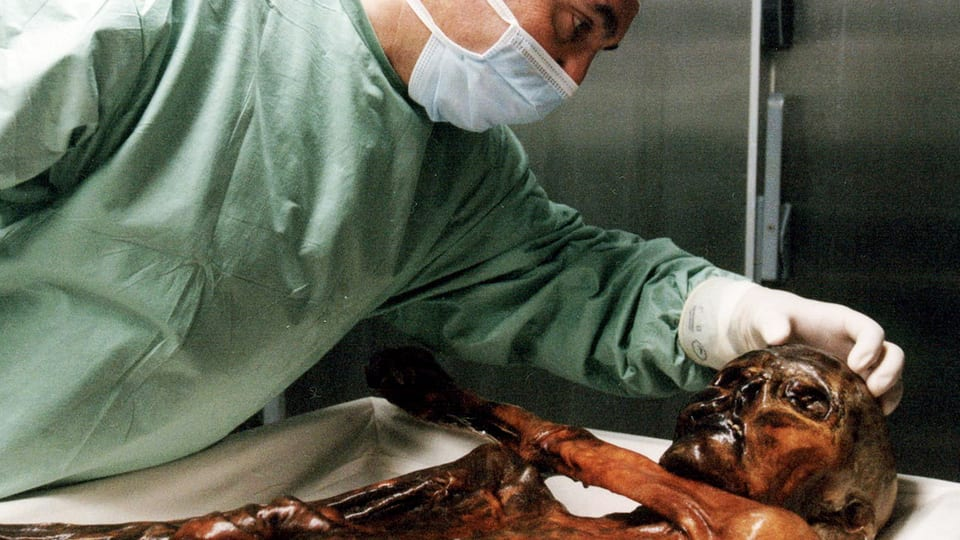 Der Steinzeitmann Ötzi fasziniert Vertreter verschiedener Wissensgebiete.