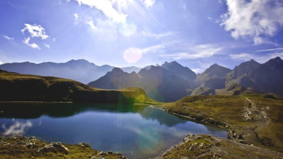 Die Bündner Berge, ein passender Ort, um über Introversion zu sprechen.