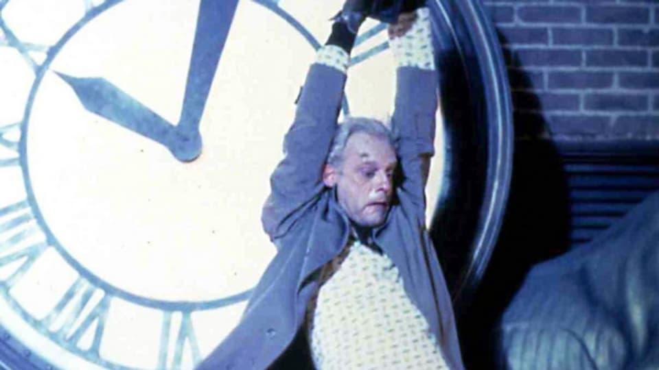 Dr. Emmett Brown im Filmklassiker «Back to the Future».