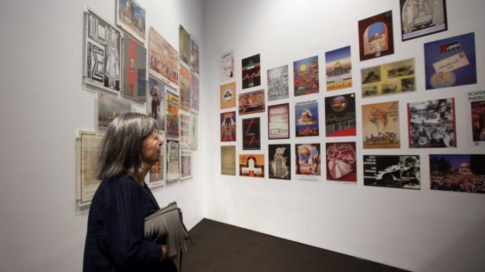 Die erste Ausstellung im «Palestinian Museum»
