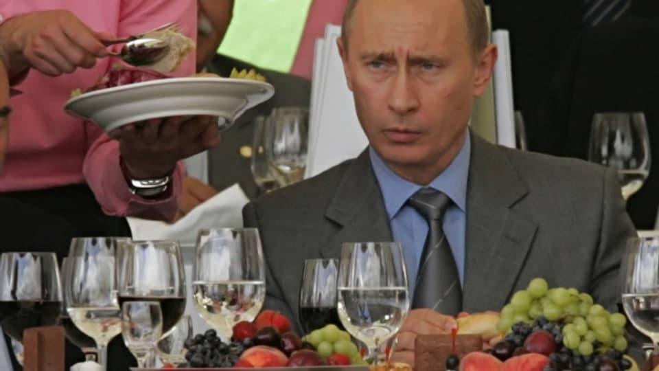 Auch er gilt als Narzisst: Russlands Präsident Vladimir Putin