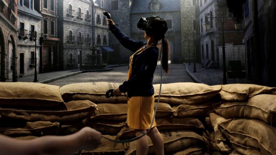 Es gibt immer mehr innovative Anwendungen von «Virtual Reality» jenseits der Spiele, etwa in Medizin, Architektur oder Weiterbildung.