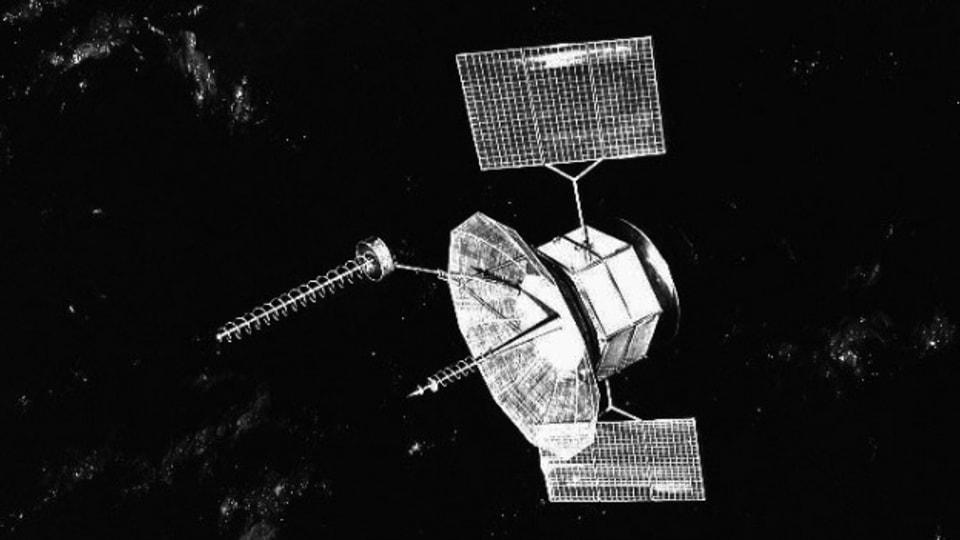 Bild eines Satelliten