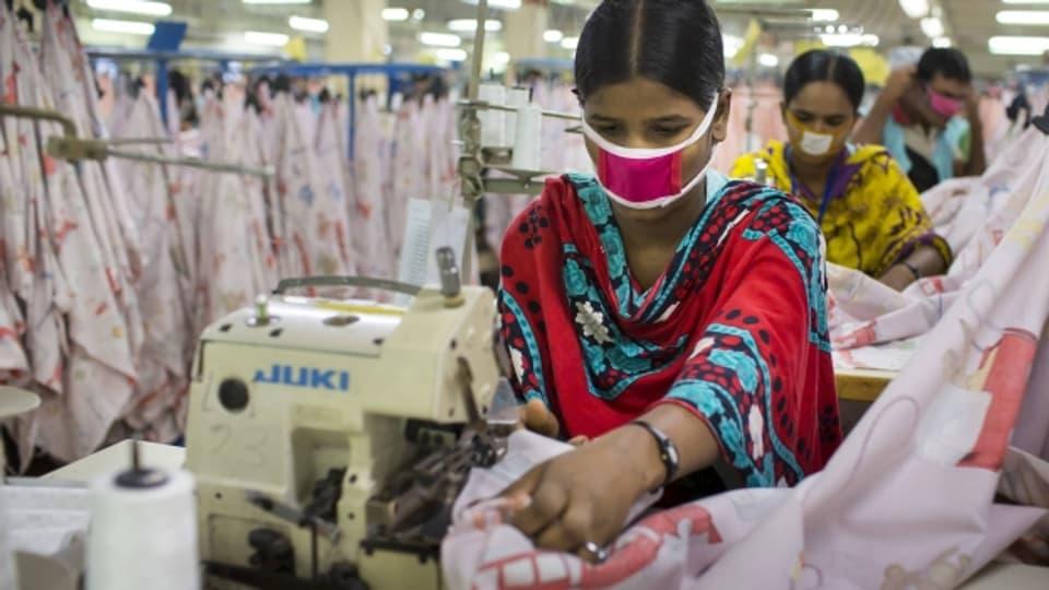 Bangladesh ist der weitgrösste Kleiderproduzent der Welt