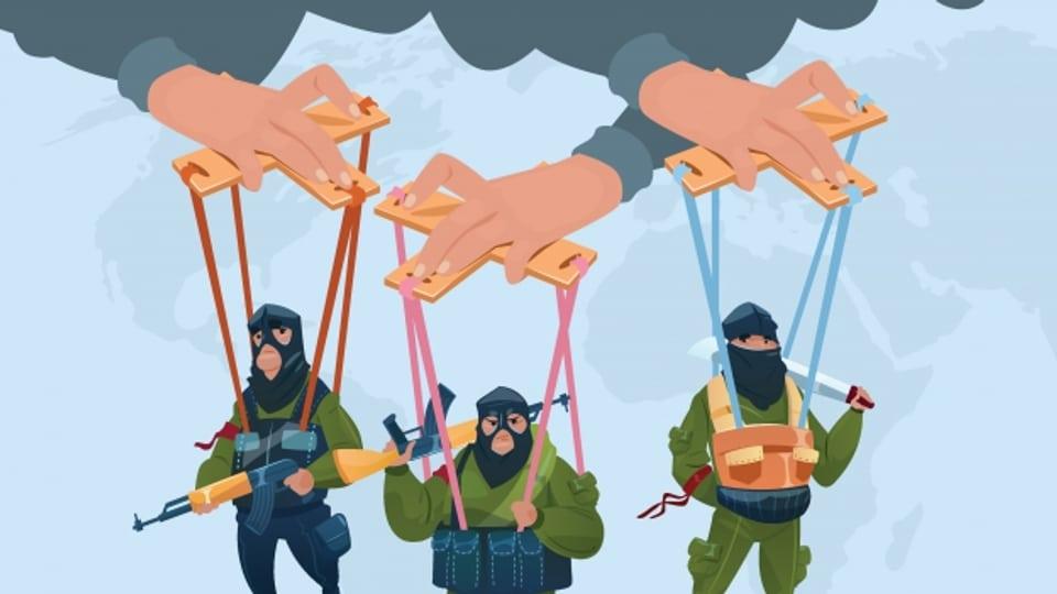 Terroristen - Handpuppen der dunklen Mächte?