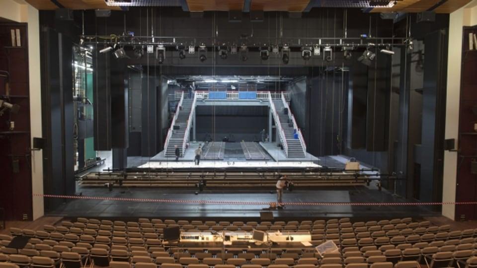 Grosse Bühne des Theaters Basel