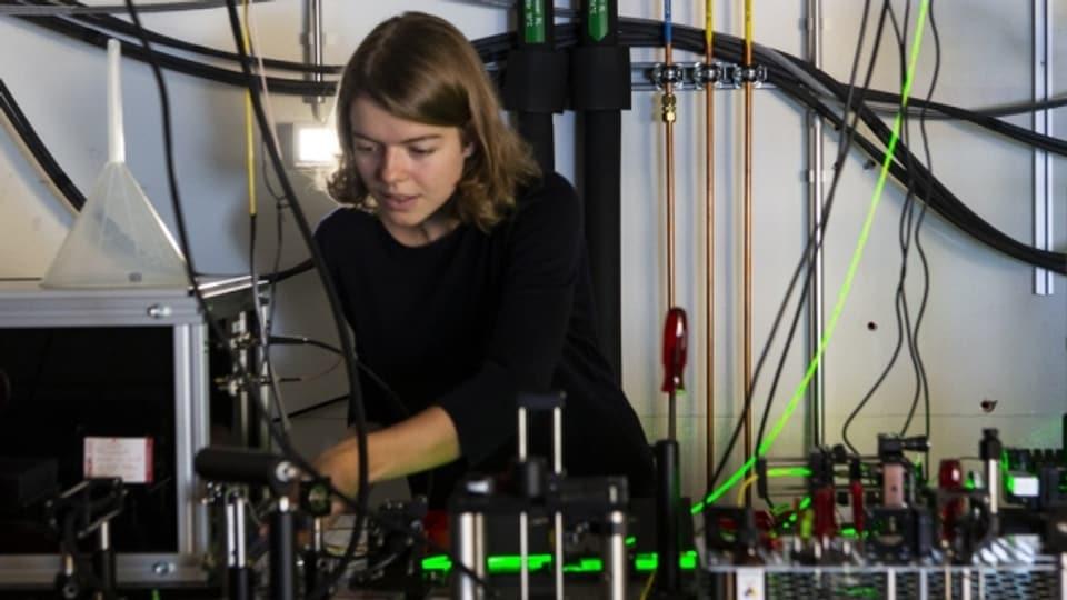 Experimentalphysikerin Märta Tschudin