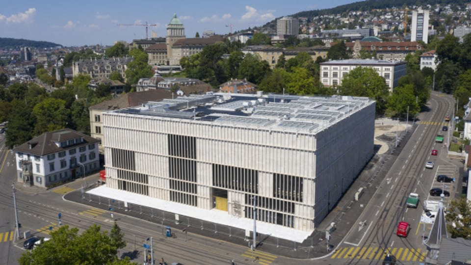 Der neue Erweiterungsbau des Zürcher Kunsthauses