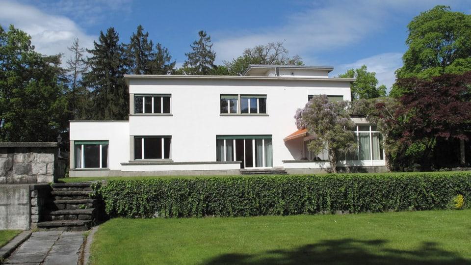 Die Villa Rachmaninoff in Hertenstein.