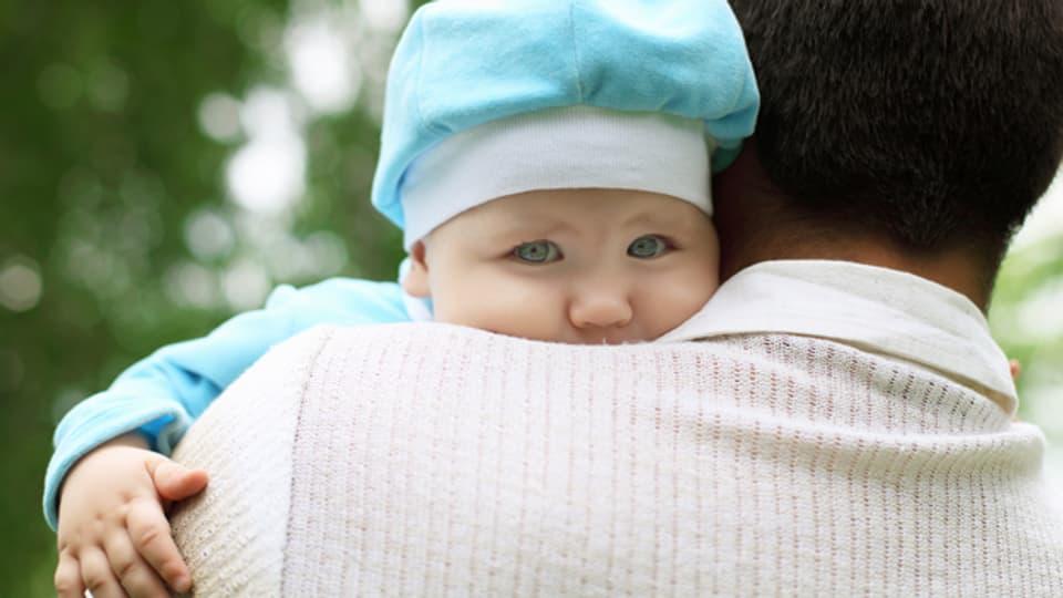 Das Vatersein mit seinen Mühen aber auch schönen Momenten.