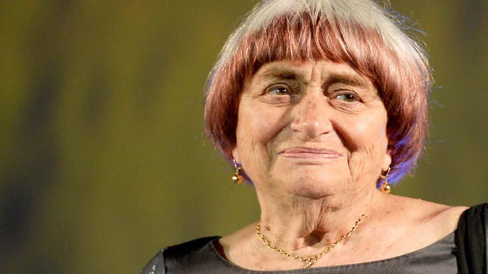 Agnes Varda: Die belgische Filmemacherin erhielt gestern in Locarno den Ehrenleoparden.