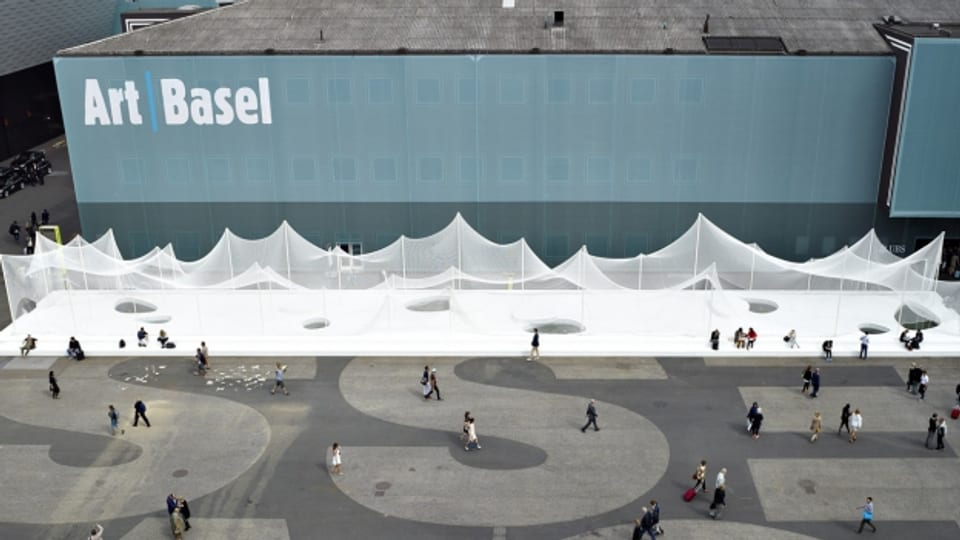 Die Art Basel ist das jährliche Gipfeltreffen der Kunsthändler