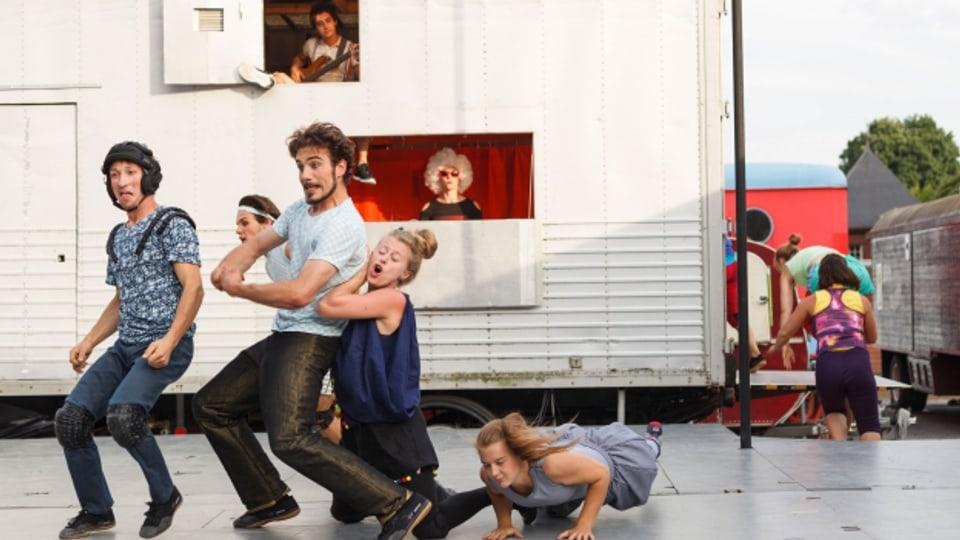 Der «Zirkus Chnopf» ist wieder auf Tournee. Bekannt ist der Zirkus unter Anderem für das originelle Storytelling.