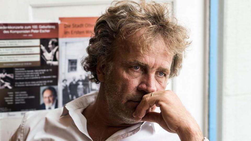 Der Schweizer Schriftsteller Alex Capus.