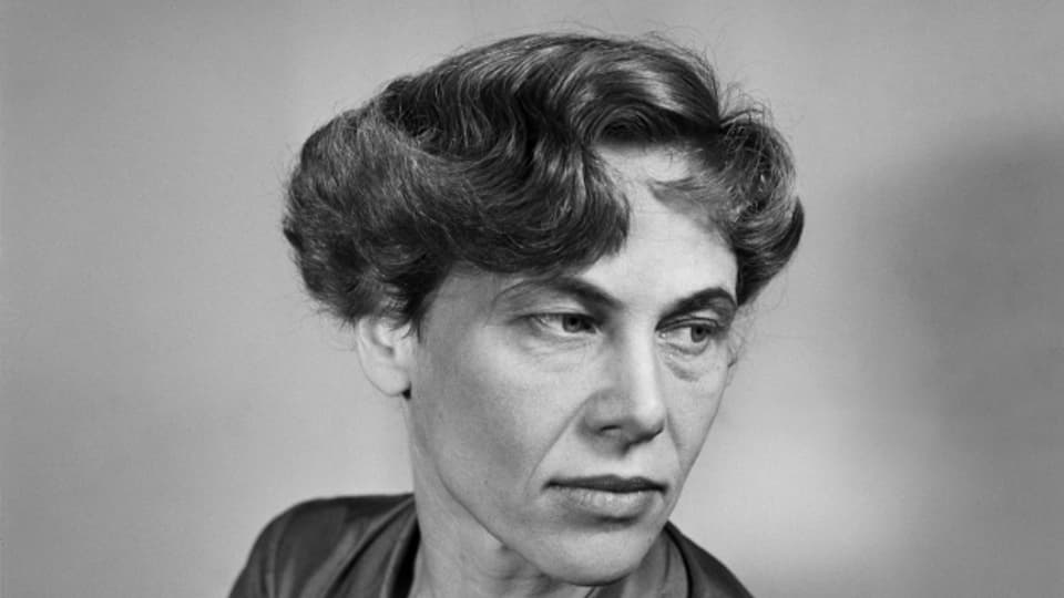 Iris von Roten – mit «Frauen im Laufgitter» empörte sie die schweizer Gesellschaft der späten Fünziger Jahre.