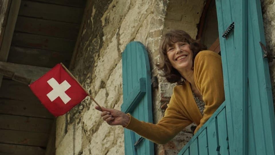 Jane Birkin in «La Femme et le TGV»