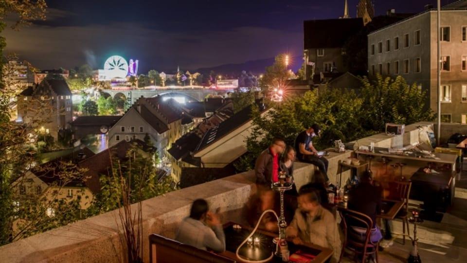 Besucher auf der diesjährigen «Badenfahrt». Das Badener Stadtfest ist ein Aushängeschild des «Kulturkanton Aargau»
