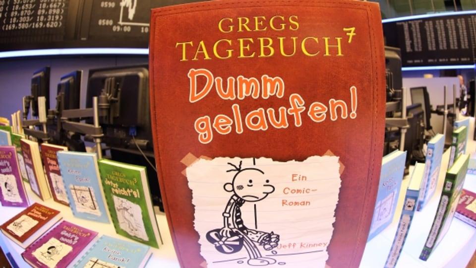Hype um die Reihe «Gregs Tagebuch»