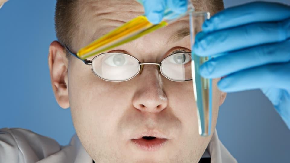 Ein Wissenschaftler an der Arbeit.