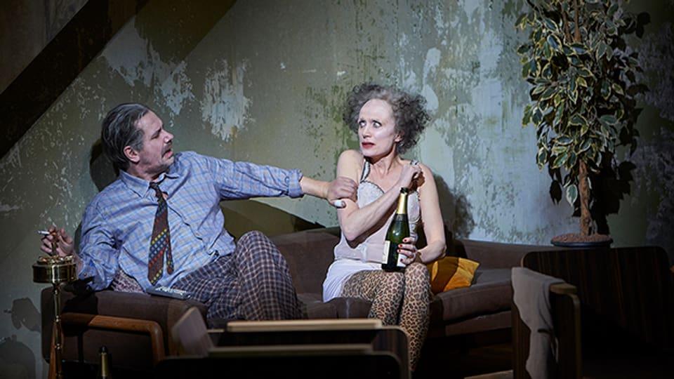Michael Maertens und Friederike Wagner an der Premiere im Schauspielhaus Zürich.