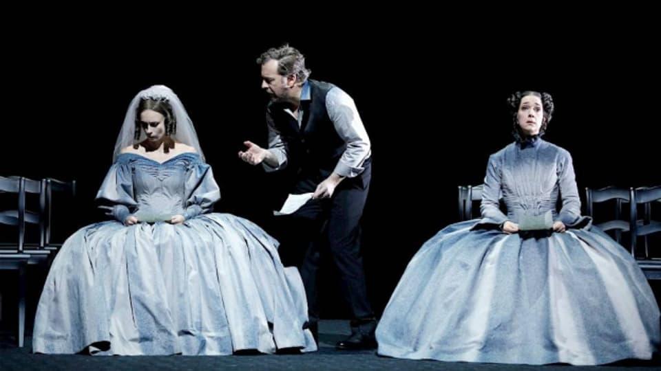 Szene aus «Lunea» am Opernhaus Zürich