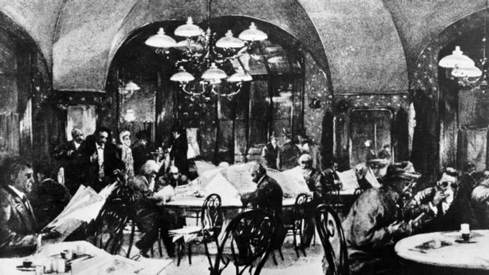 Wien am Anfang des 20. Jahrhunderts.