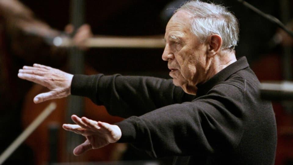 Das Superhirn der musikalischen Avantgarde wird 90: Pierre Boulez.