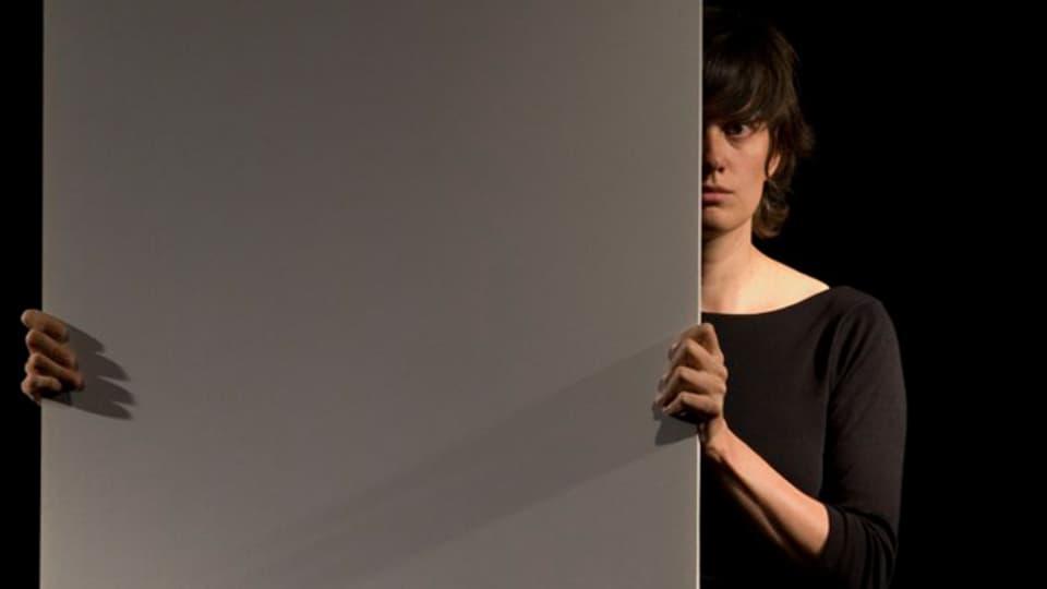 Cathy van Eck bei der Performance «Wings».