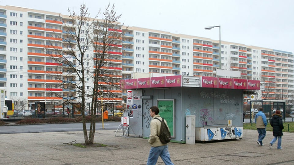 Maurice de Martin lässt sein Projekt in Berlin-Marzahn stattfinden.