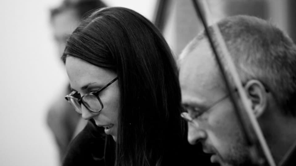 Carla Iannotta: Komponieren heisst für sie, Musik körperlich erfahrbar zu machen.