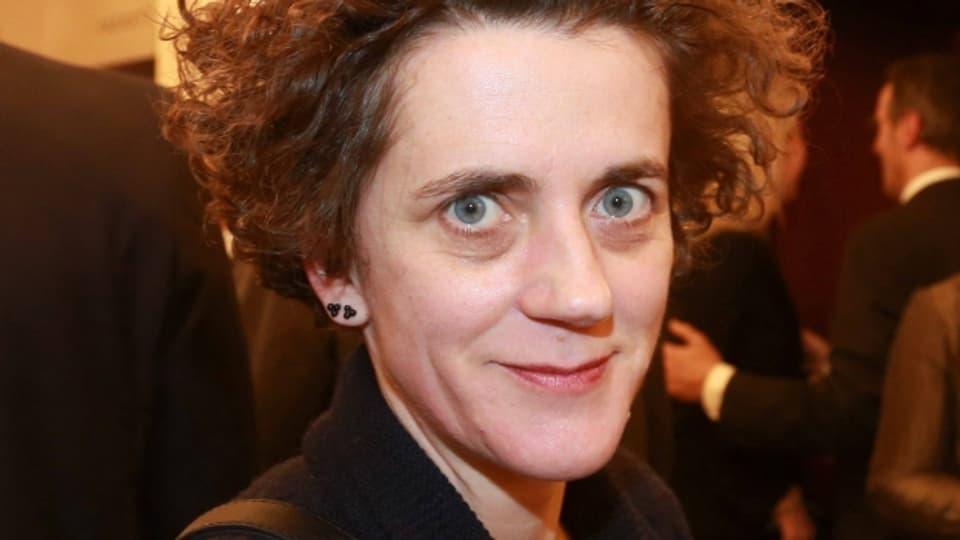 Die österreichische Komponistin Olga Neuwirth
