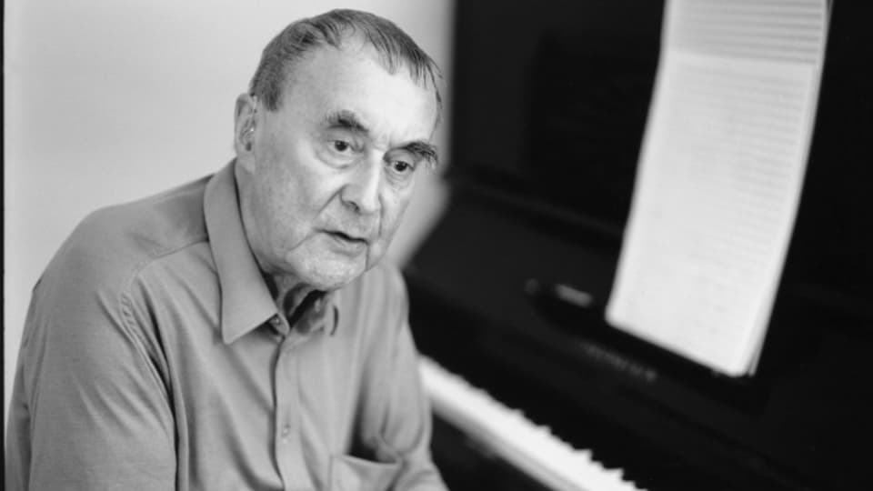Jacques Wildberger im Jahre 1999
