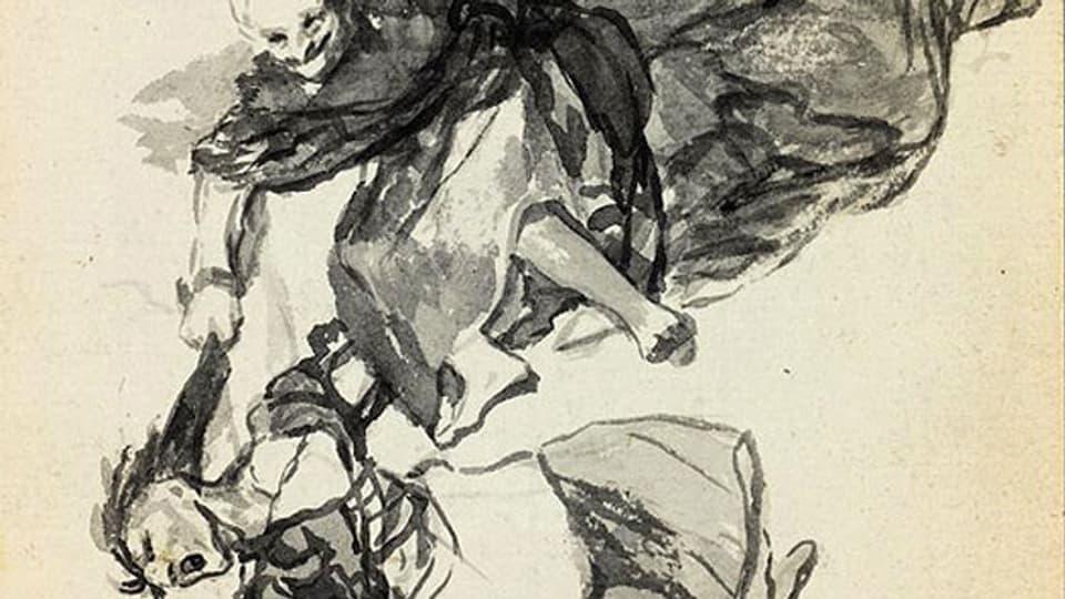 Eine Hexe will nichts Gutes verheissen – auch nicht bei Goya.