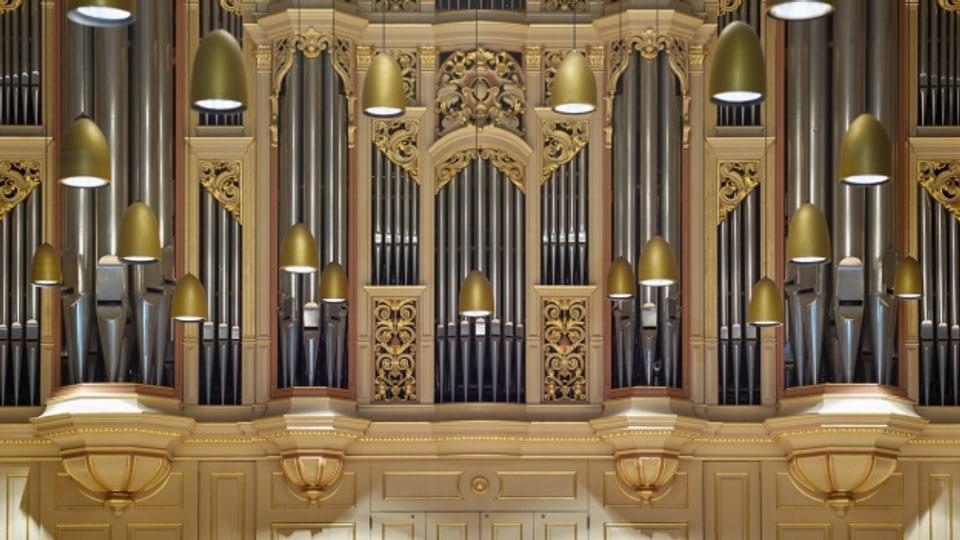 Die Orgel der Tonhalle Zürich