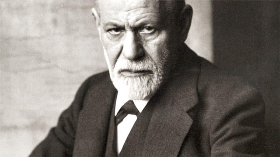 Sigmund Freud, Begründer der Psychoanalyse.